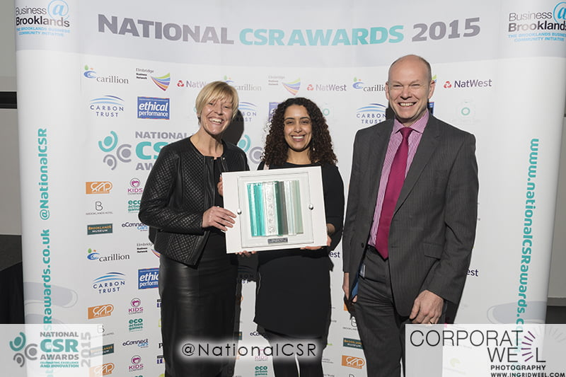 Sustainability stars shine at UK's first National CSR Awards