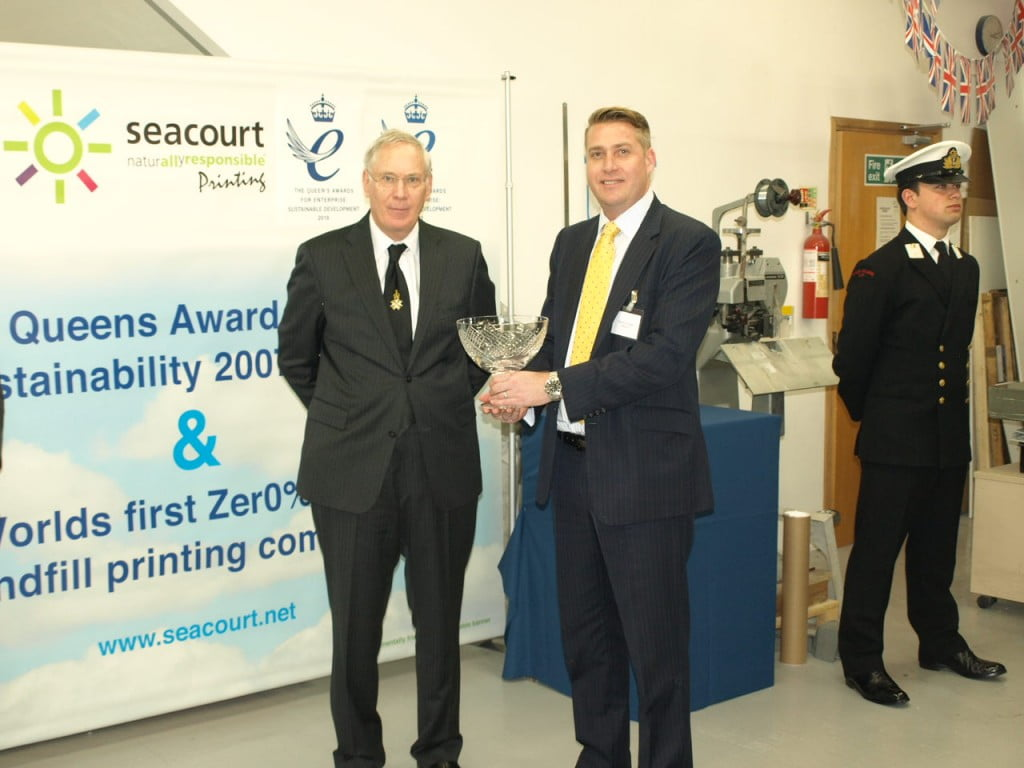 Royal seal of approval for Seacourt