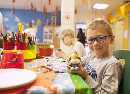 George Wormleighton – paediatric patient OCCYP play room arts