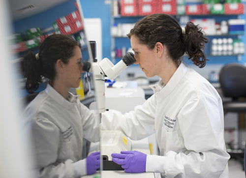 Scientist Elena Lopez Knowles, The Ralph Lauren Centre for Breas