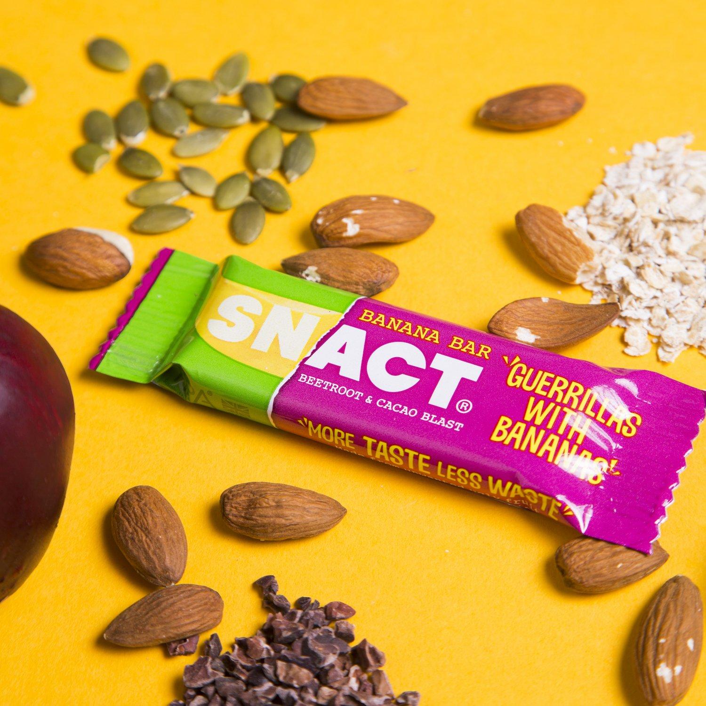 SNACT_Beetroot & Cacao Blast Banana Bar