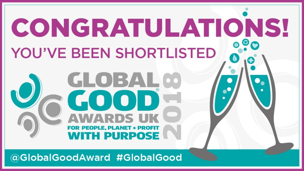 The 2018 Global Good Award Shortlist is here!