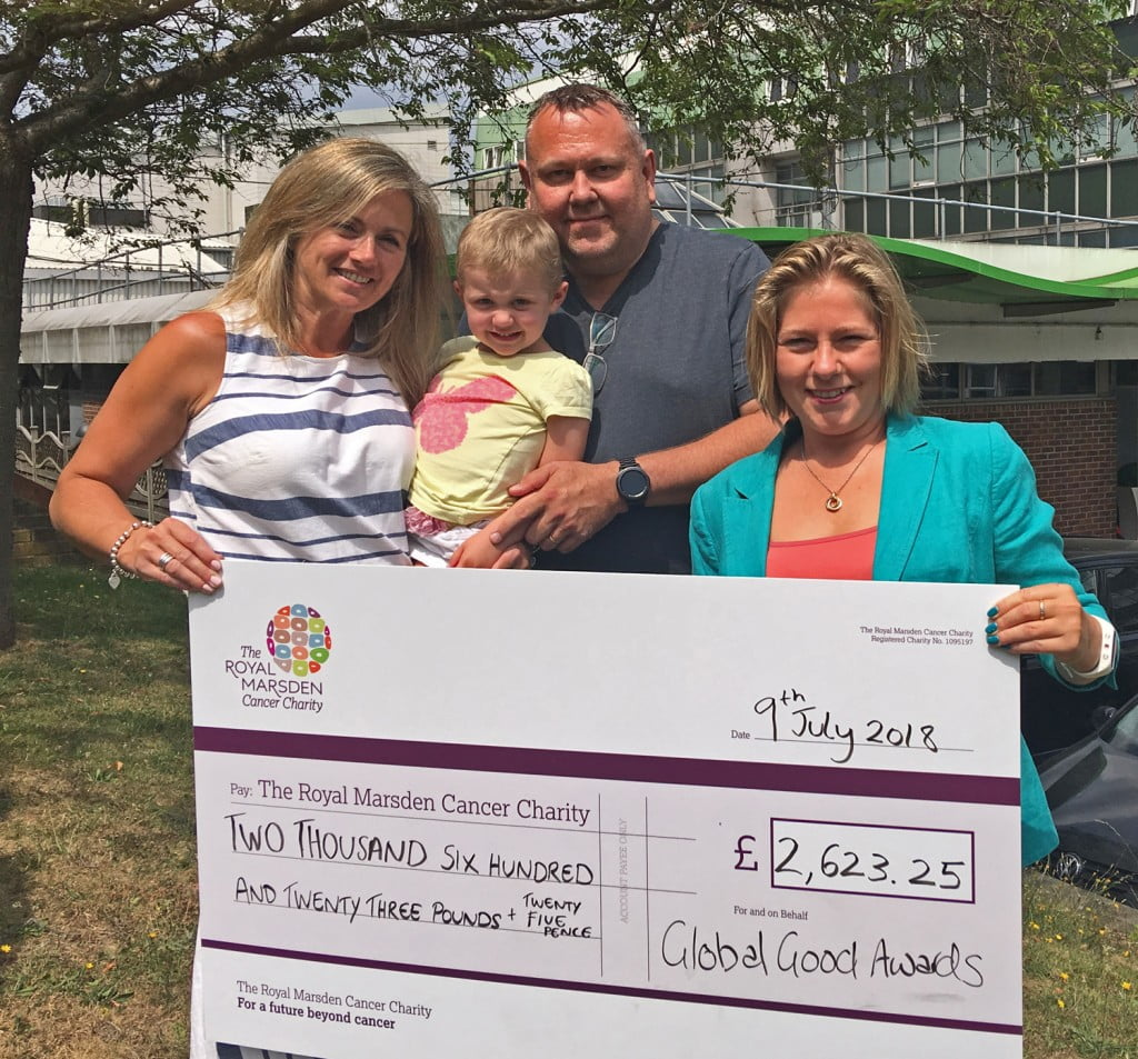 The Royal Marsden confirms 2018 GGA donation