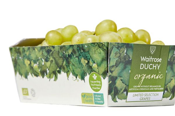 Grape minds! Bye bye plastic punnet
