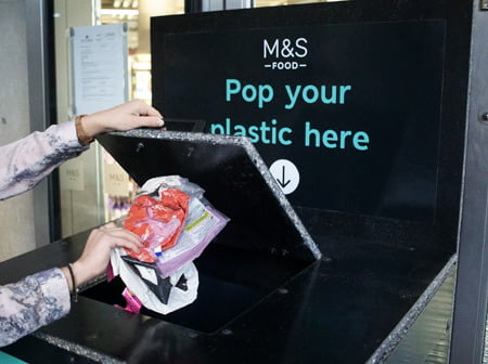M&S takes plastics 'take-back' scheme nationwide