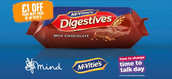 McVitie's backs mental health initiative