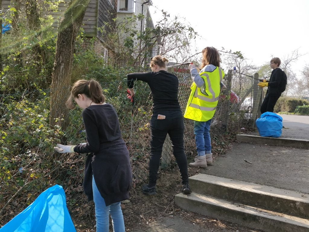 Spring clean for Polegate pathway