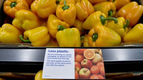 Tesco trials removing plastic from fruit and veg