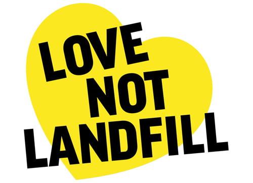 love not landfill 500x362