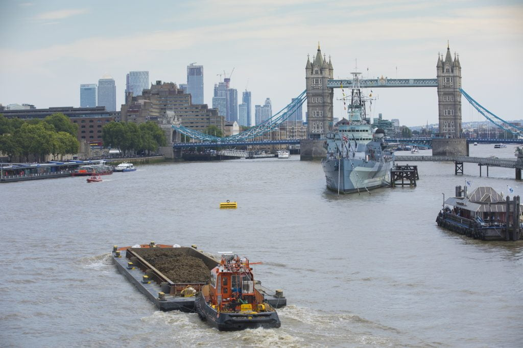 #EveryBoatCounts in London super sewer project