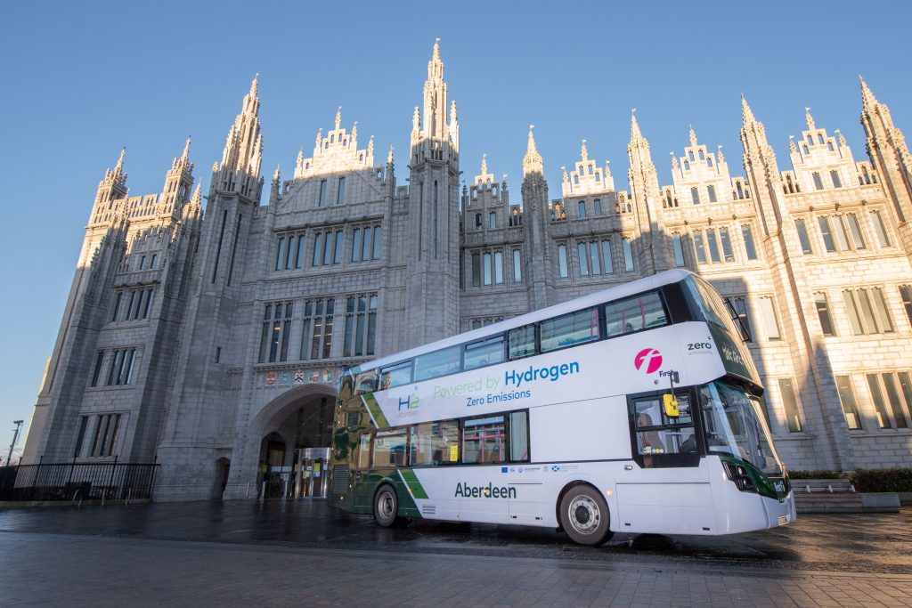 Cheers, drive! World's first hydrogen double deckers hit the road