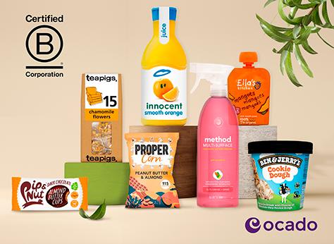 Sustainable shopping: Ocado celebrates B Corp brands